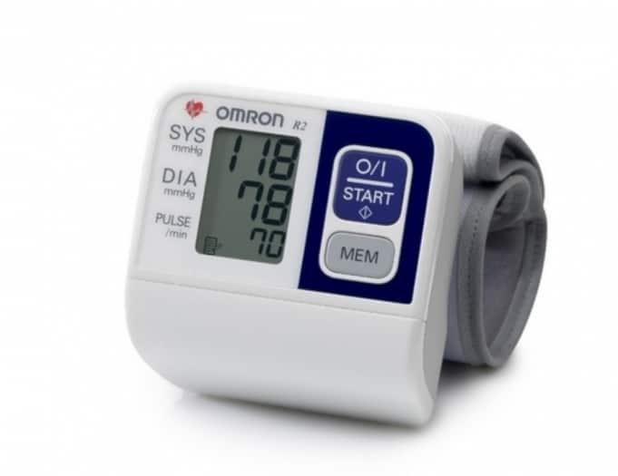 Omron RS2 automata csuklós vérnyomásmérő 1 db