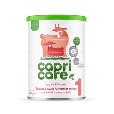 Capricare 1 kecsketej alapú tápszer (0-6 hónapos korig) 400g