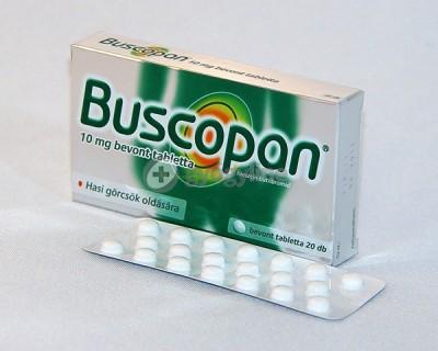 Buscopan 10 mg filmtabletta 20 db