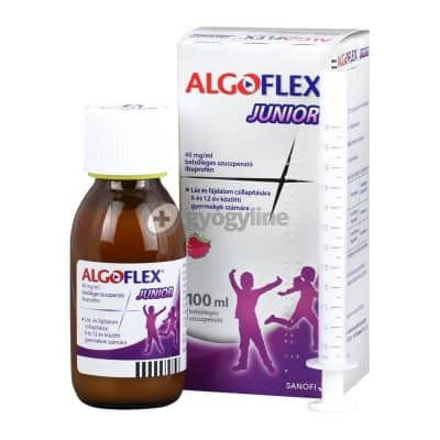 Algoflex junior 40 mg/ml belsőleges szuszpenzió 100 ml