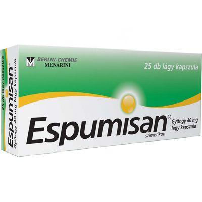 Espumisan gyöngy 40 mg lágy kapszula 25 db