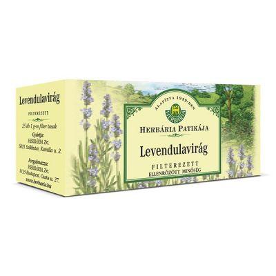 Herbária Levendulavirág filteres tea 25 db