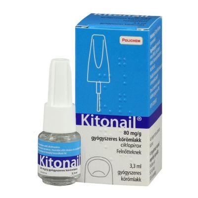 Kitonail 80 mg/g gyógyszeres körömlakk 3,3 ml