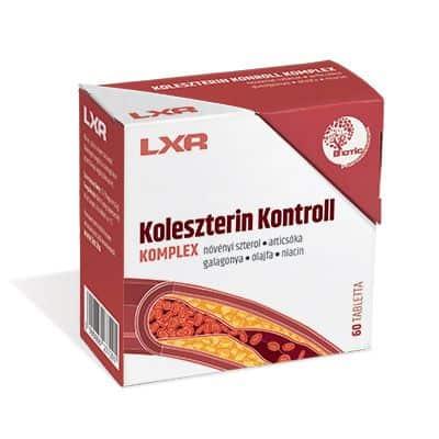 LXR Koleszterin kontroll komplex kapszula 60 db