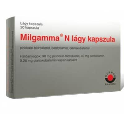 Milgamma a psoriasis