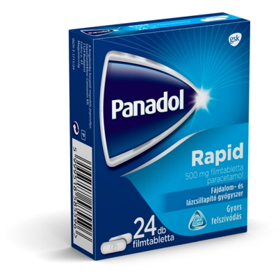 Panadol rapid fájdalomcsillapító filmtabletta 24 db
