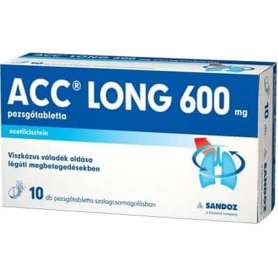 ACC long 600 pezsgőtabletta 10 db