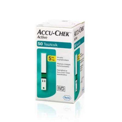 Accu-Chek active glucose tesztcsík 50 db