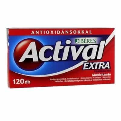 Béres actival extra filmtabletta 120 db