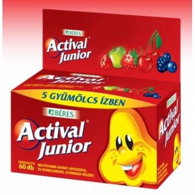 Béres actival junior rágótabletta 60 db