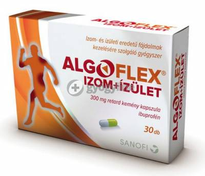Algoflex izom+ízület 300 mg retard kemény kapszula 30 db