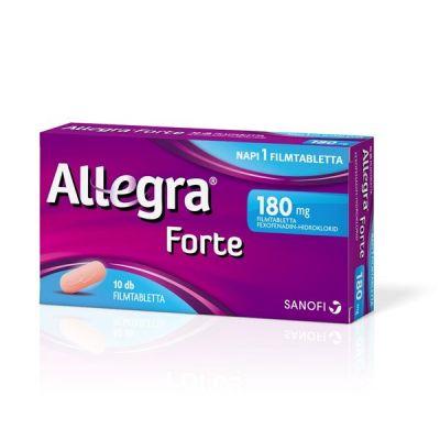 Allegra forte 180 mg filmtabletta allergiára 10 db