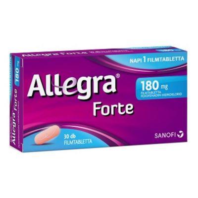 Allegra Forte 180 mg filmtabletta allergiára 30 db
