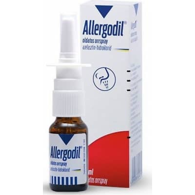 Allergodil oldatos orrspray 10 ml