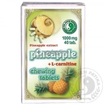 Dr. Chen ananász rágótabletta L-karnitinnel 40 db