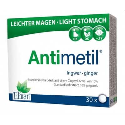 Antimetil gyömbér tartalmú étrend-kiegészítő tabletta 30 db