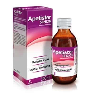 Apetister senior málna, feketeribizli ízesítéssel 100 ml