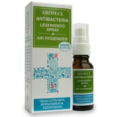 Aromax antibacteria indiai citromfű-borsosmenta-szegfűszeg spray 20 ml