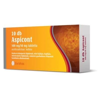 Aspicont 500 mg/50 mg tabletta 10 db
