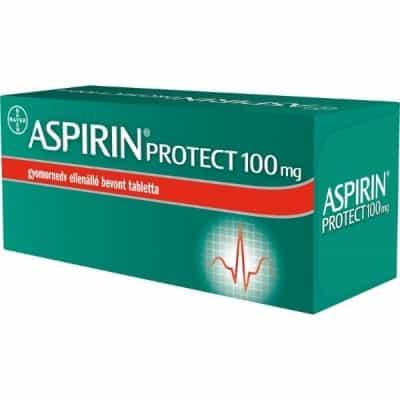 Aspirin Protect 100 mg gyomornedv-ellenálló bevont tabletta - 28 db