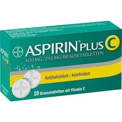Aspirin plus C pezsgőtabletta 10 db