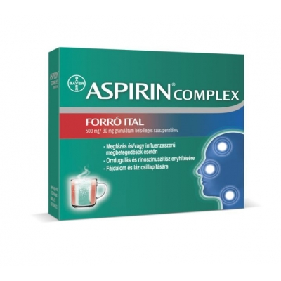 Aspirin complex forró ital granulátum 20 db
