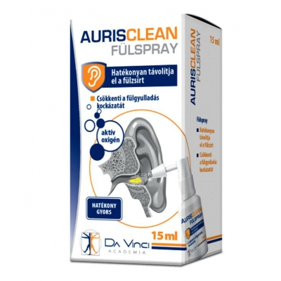 Aurisclean fülspray 15 ml