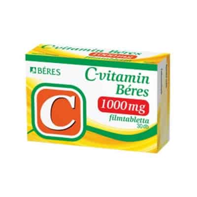 Béres c-vitamin 1000mg filmtabletta 30 db