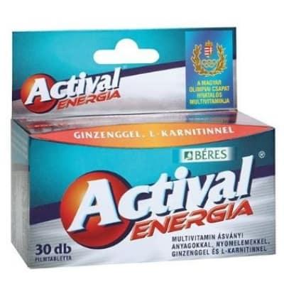 Béres actival energia filmtabletta 90 db