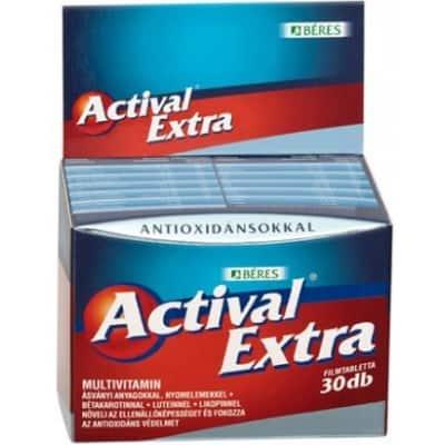 Béres actival extra filmtabletta 30 db