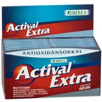 Béres actival extra filmtabletta 60 db