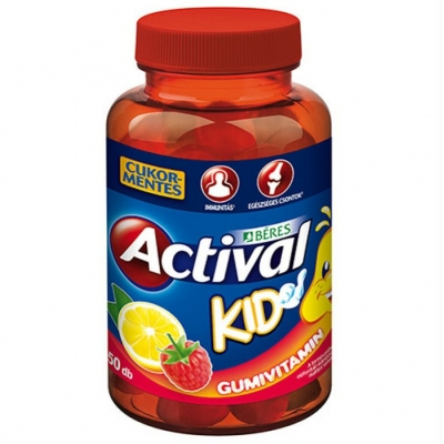 Béres Actival Kid gumivitamin 50 db