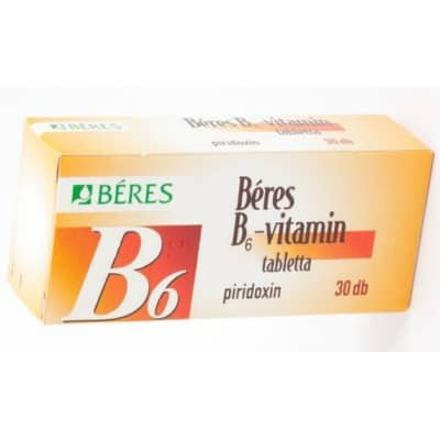Béres B6-vitamin tabletta 30 db