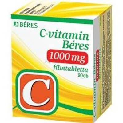 Béres C-vitamin 1000 mg filmtabletta 90 db