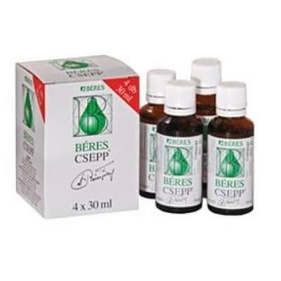 Béres csepp belsőleges oldatos cseppek 4 x 30 ml