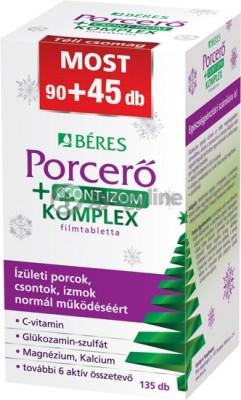 Béres porcerő + csont-izom komplex filmtabletta 90 + 45 db téli csomag
