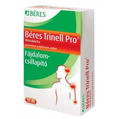 Béres trinell pro fájdalomcsillapító filmtabletta <br>10 db