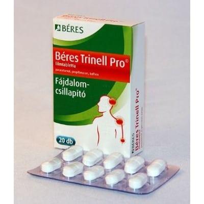 Béres trinell pro fájdalomcsillapító filmtabletta <br>20 db