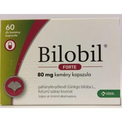 Bilobil Forte 80 mg kapszula, 60 db