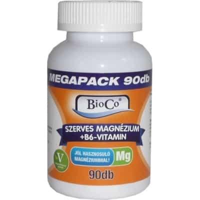 Bioco szerves magnézium+B6 tabletta 90 db