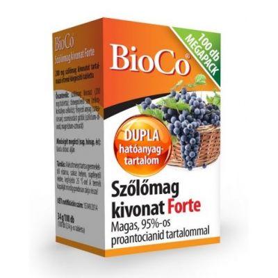 Bioco szőlőmag kivonat forte tabletta megapack 100 db