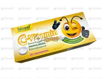 Bioeel C-vitamin 100mg propolisz rágótabletta 20 db
