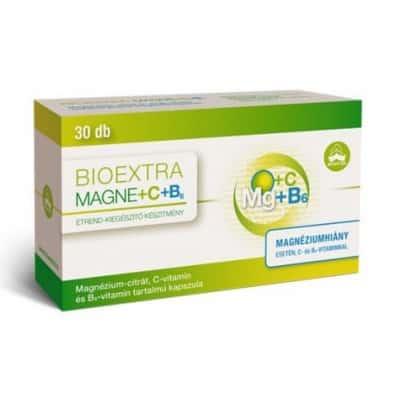 Bioextra magne+C+B6 kapszula 30 db