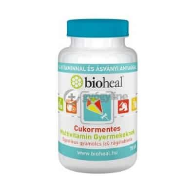 Bioheal multivitamin gyermekeknek rágótabletta 70 db