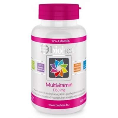 Bioheal multivitamin tabletta 70 db