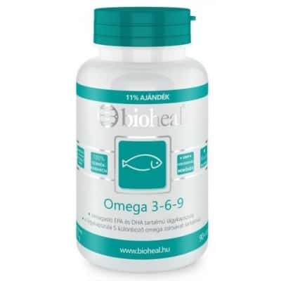 Bioheal omega 3-6-9 lágykapszula 100 db