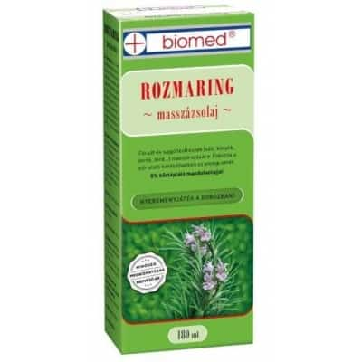 Biomed rozmaring masszázsolaj 180 ml