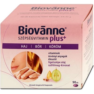 Biovanne Plus szépségvitamin kapszula, 90 db