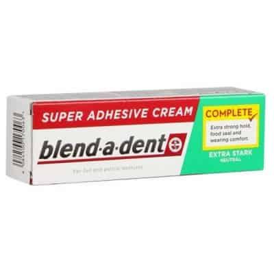 Blend-a-dent műfogsorrögzítő natural krém 47 g
