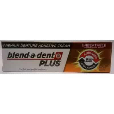 Blend-a-dent plus prémium műfogsor rögzítő krém 40 g